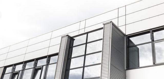 Bürogebäude, Gewerbegebiet
